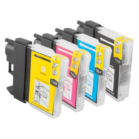 LC-985 pack de 4 cartouches - adaptable