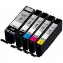 Canon PGI-570 / CLI-571 adaptable - pack de 5