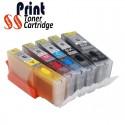 Canon PGI-470/CLI-471XL rechargeable - pack de 5