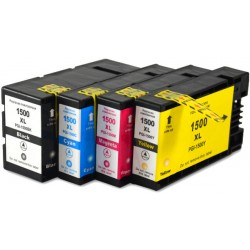 Cartouche Canon PGI-1500 XL Pack 4 cartouches couleur
