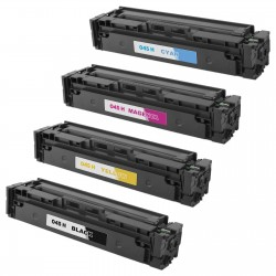 Toner Compatible Canon 045H pack 4 toner