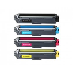 Toner Couleur Brother TN-221/241BK 225/245CYM pack 4 toner (compatible)