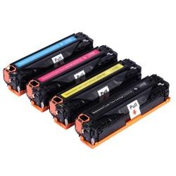 Toner HP CC530/533 CE410/413 pack 4 Couleurs (compatible)