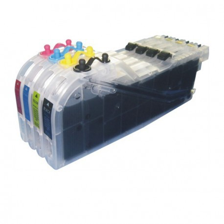 Brother LC-223 pack 4 reservoires rechargeables