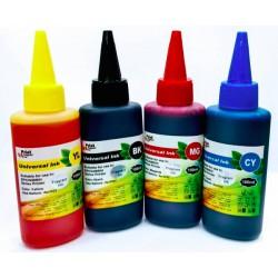 Kit encre de recharge couleur 4x100ML
