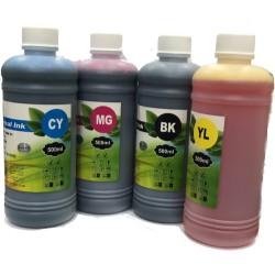 Kit encre de recharge couleur 4x500ML (parfumée)
