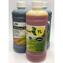 Encre de recharge Yellow 500ML