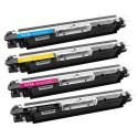 Toner HP CE-310 / CRG-729 pack 4 toner (compatible)