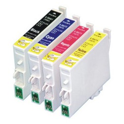 Epson T0925 - pack de 4 cartouches - adaptable